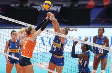 У фіналі жіночого чемпіонату Європи зіграють Сербія та Італія жіночий волейбол, чемпіонат європи-2021, півфінали, фінальні матчі, матч за третє місце, італія, нідерланди, сербія, туреччина