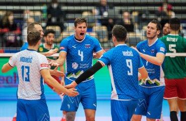 Євро-2021. Словенія обіграла Болгарію та інші результати дня чоловічий волейбол, чемпіонат європи-2021, груповий етап, результати вівторка