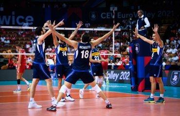 Збірні Італії та Словенії вийшли в фінал чемпіонату Європи чоловічий волейбол, чемпіонату європи-2021, чоловічки, півфінали, італія, словенія, сербія, польща, кращі команди європи, фіналісти