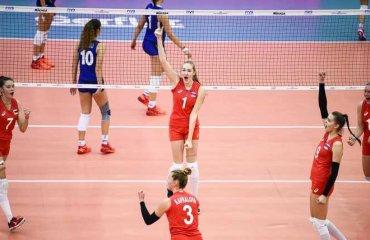 Волейболістки збірної Росії виграли чемпіонат світу U-18 жіночий волейбол, чемпіонат світу u-18, збірні сша, збірна росії, збірна італії, збірна сербії, фінал, кращі гравці