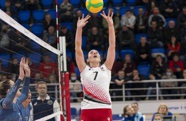 """СК """"Прометей"""" вийшов у наступний раунд Ліги чемпіонів жіночий волейбол, ліга чемпіонів 2021-2022, другий раунд, ск прометей, камник словенія, результати матчу"""