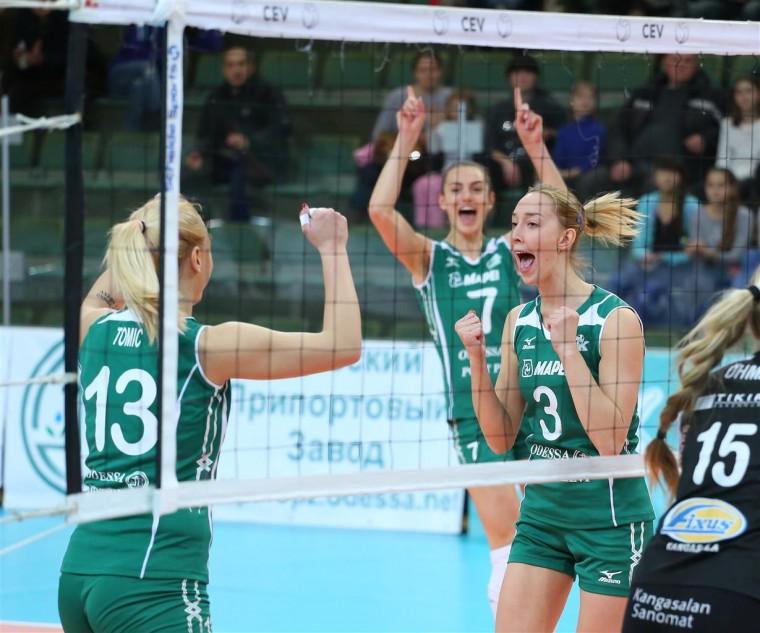 «Химик» вышел в четвертьфинал Кубка ЕКВ