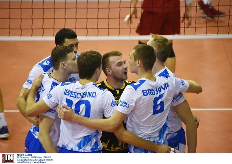 Оба матча четвертьфинала Кубка ЕКВ «Газпром-Югра» — «Драгонс» пройдут в Сургуте