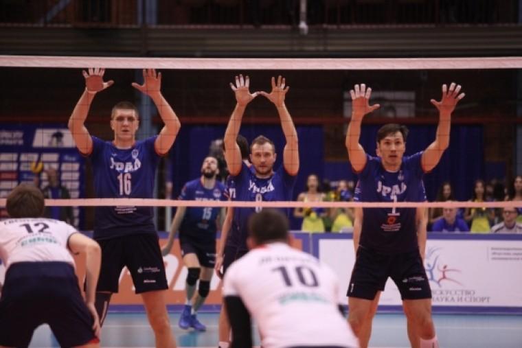Результаты 16-го тура российской мужской суперлиги