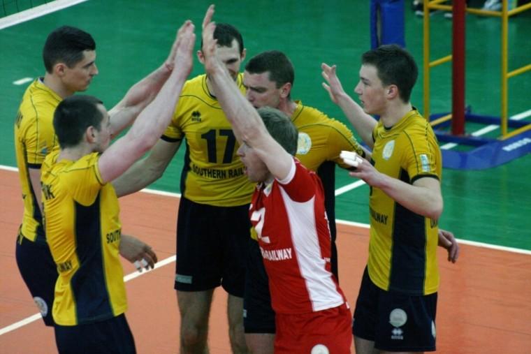 «Локомотив» выиграл первый матч у «Юракадемии» + (ФОТО)
