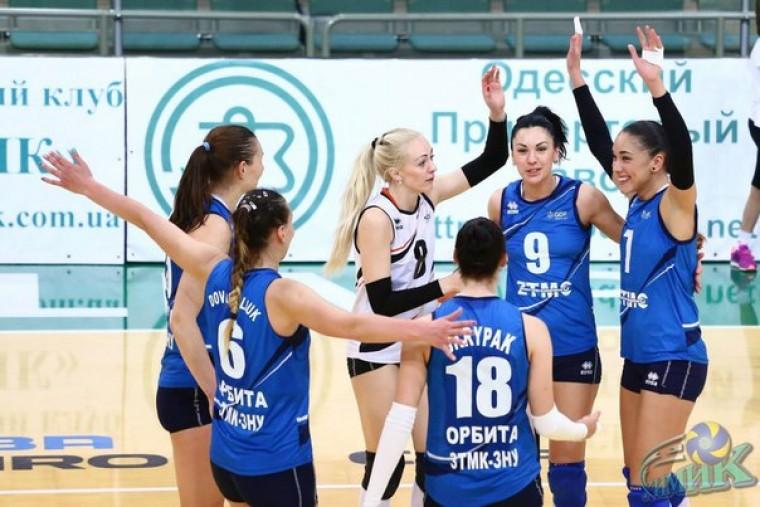 «Орбита» - серебряный призер чемпионата Украины