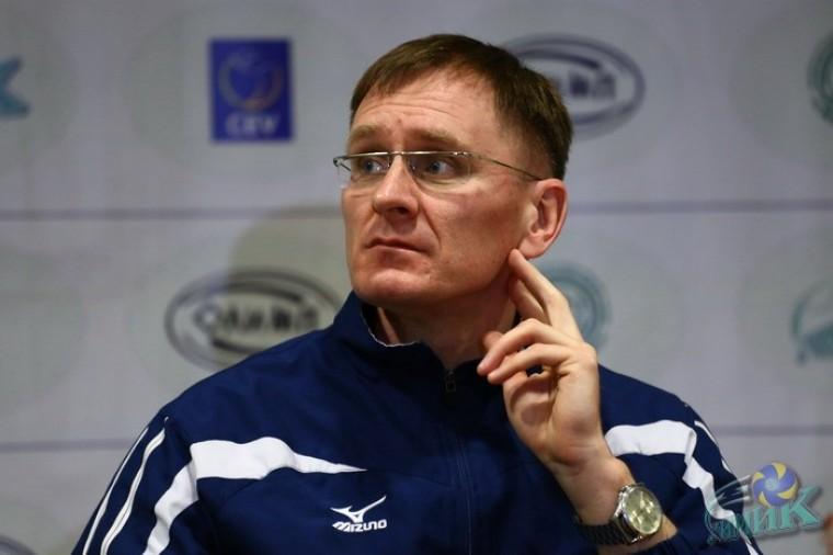 Андрей Романович  стал главным тренером ВК «Химик
