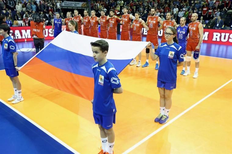 Мужская сборная России по волейболу обыграла в товарищеском матче сборную Франции