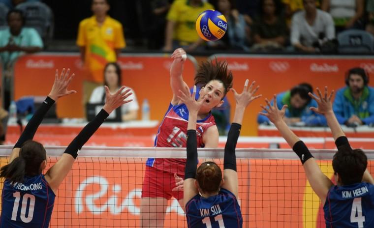Женская сборная России обыграла Южную Корею в волейбольном турнире