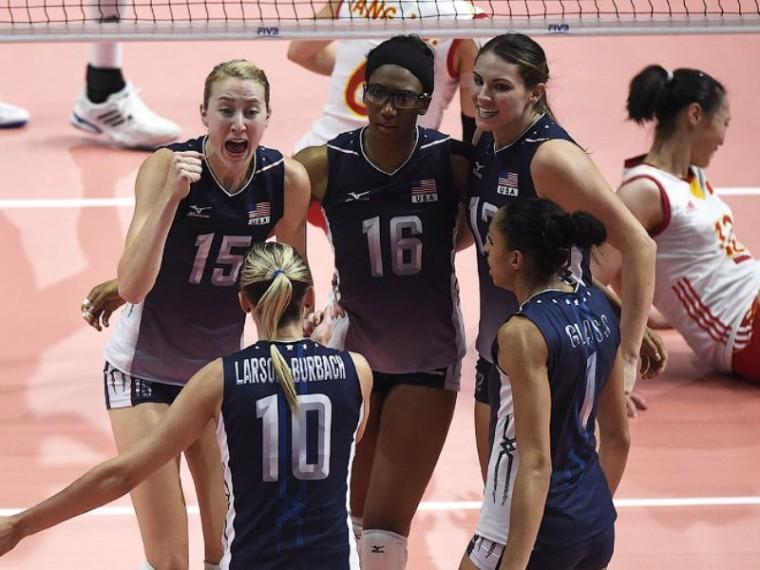 Сборная США по волейболу обыграла команду Китая в четырех партиях на ОИ