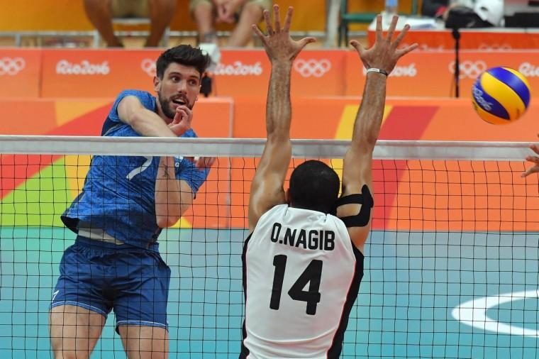 Волейболисты Аргентины обыграли Египет в матче группового этапа ОИ