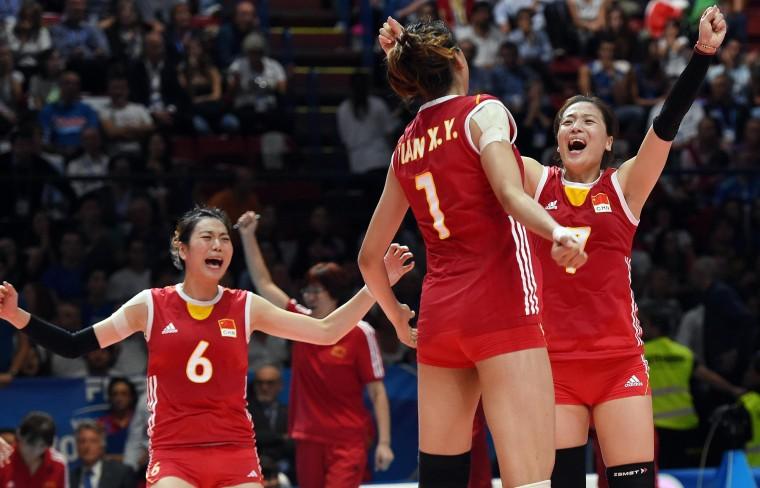 Сборная Китая обыграла бразильянок в матче 1/4 финала Олимпиады