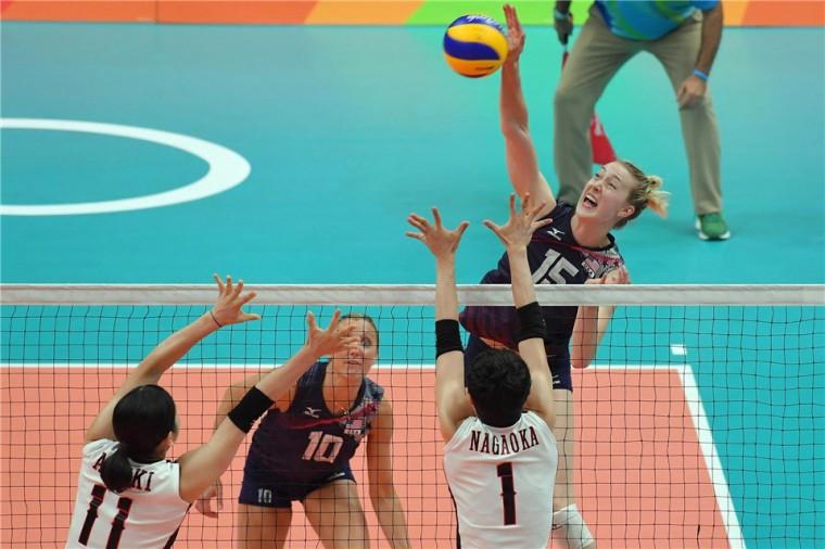 Сборная США в 1/4 финала Олимпиады выиграла у Японии и прошла в полуфинал