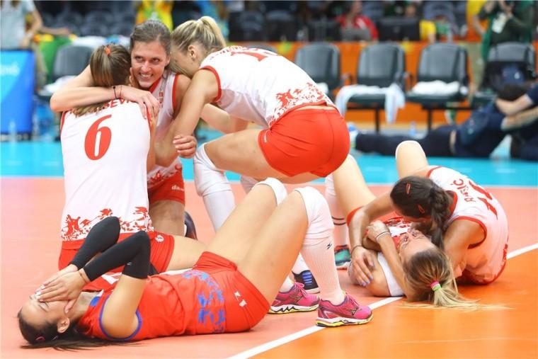 Сербки в финале Олимпиады