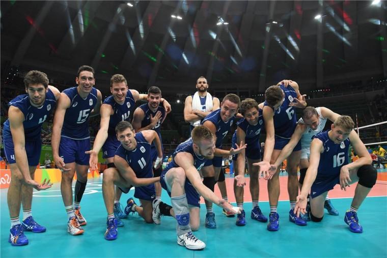 Сборная Италии обыгрывает команду США и выходит в финал Олимпийских Игр