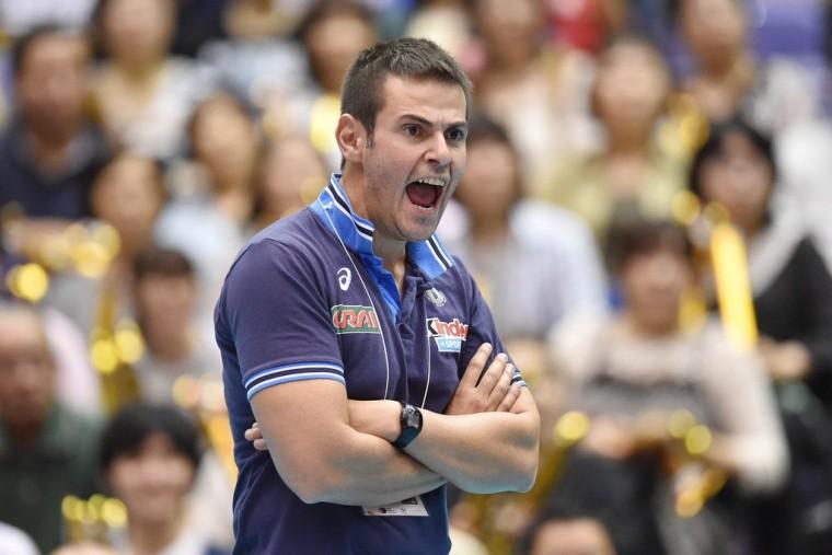 Федерация волейбола Италии хочет сохранить Бленджини на посту наставника сборной