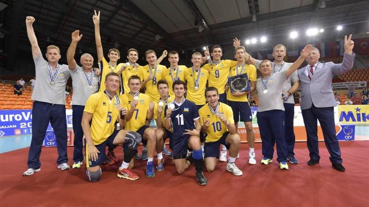 Збірна України – срібний призер чемпіонату Європи (U-20)-2016