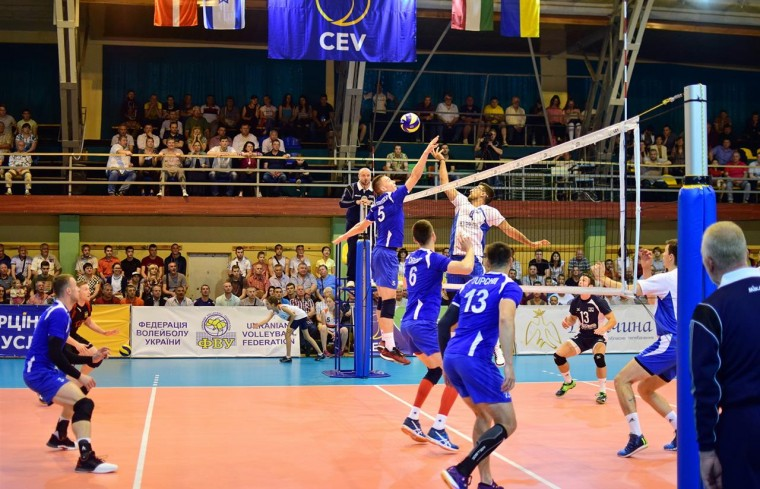 Збірна України Україна поступається Данії у другому матчі Євроліги