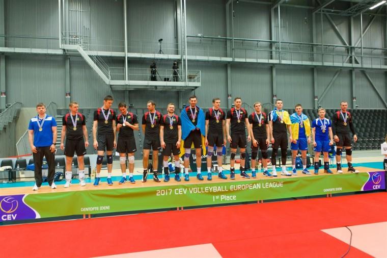 Національная збірна України Національна збірна України - переможець Євроліги-2017!