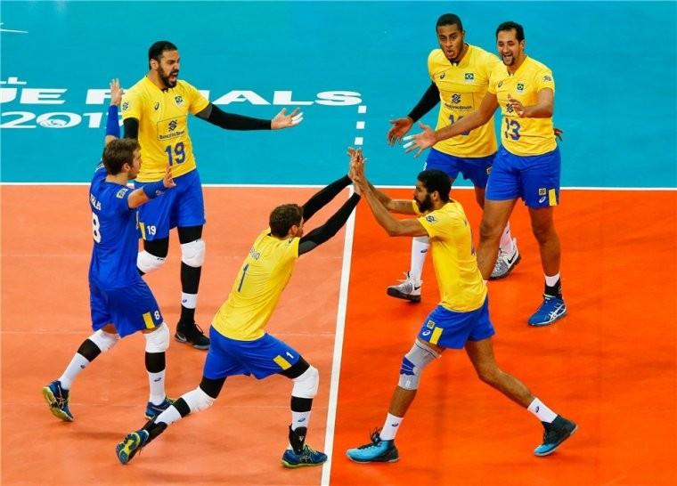 Сборная Бразилии Международная федерация волейбола обнародовала новый рейтинг мужских национальных сборных