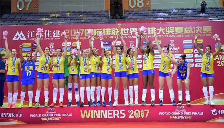 Женская сборная Бразилии Женская сборная Бразилии выиграла Мировой Гран-при