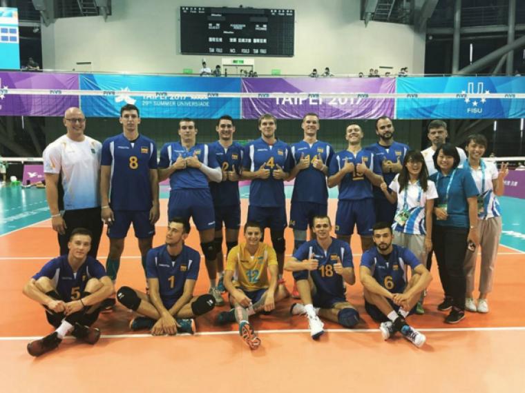 Чоловіча збірна України обіграла команду Португалії в матчі Всесвітньої Універсіади