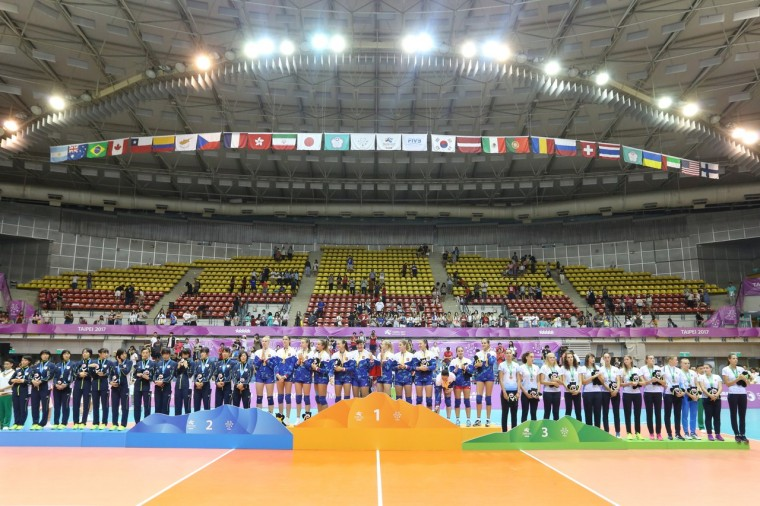 Призёры Всемирной Универсиады-2017 Женская сборная России стала победителем Универсиады-2017