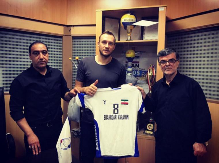 Андрей Куцмус Украинский доигровщик Андрей Куцмус продолжит карьеру в Иране