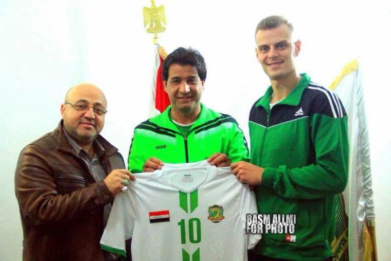 Украинский доигровщик Ярослав Заика продолжит карьеру в Ираке
