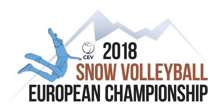 ЕКВ опубликовала логотип чемпионата Европы по волейболу на снегу