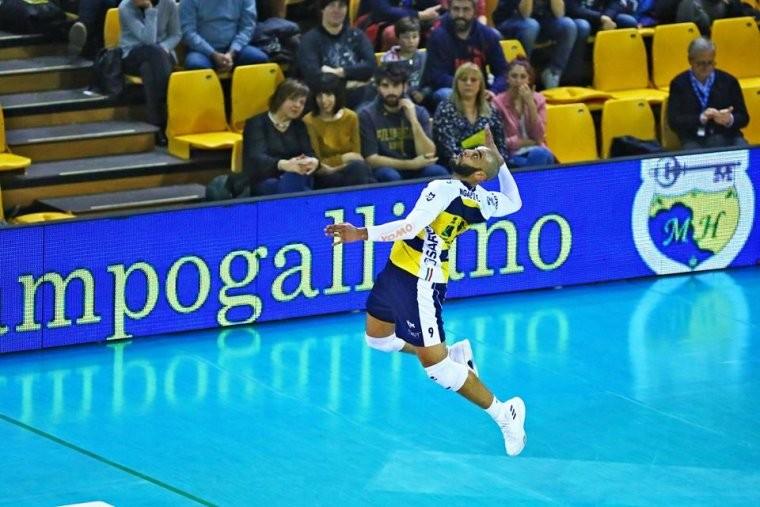 Эрвин Нгапет Нгапет установил рекорд чемпионата Италии по эйсам за матч (ВИДЕО)
