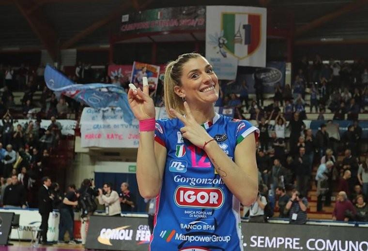 Франческа Пиччинини 50 оттенков…итальянской волейболистки Франчески Пиччинини