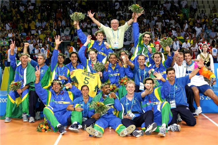 Мужская сборная Бразилии Победители Олимпийских игр 1964-2016 (ВИДЕО)