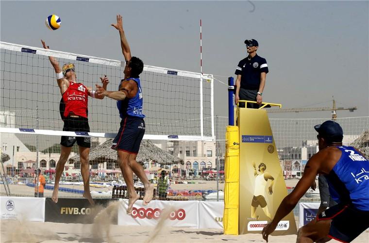 Katara Beach Volleyball Cup-2018. Розклад та трансляції матчів