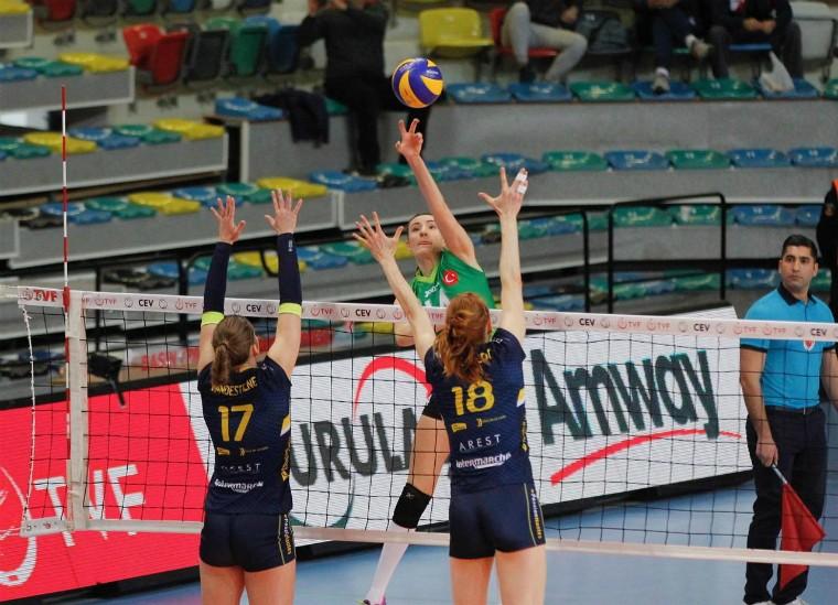 """Бурса - Нант """"Бурса"""" та """"Олімпіакос"""" зробили перший крок до фіналу Кубку Виклику"""