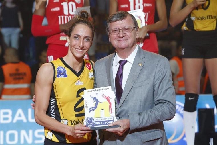 Гёзде Кырдар Нападающая Гёзде Кырдар - MVP женской Лиги чемпионов-2018