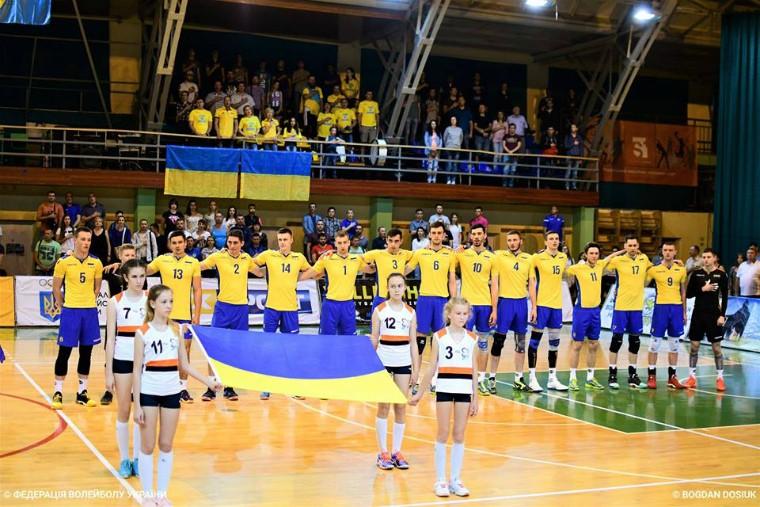 Чоловіча збірна України Результати матчів II міжнародного турніру в Івано-Франківську