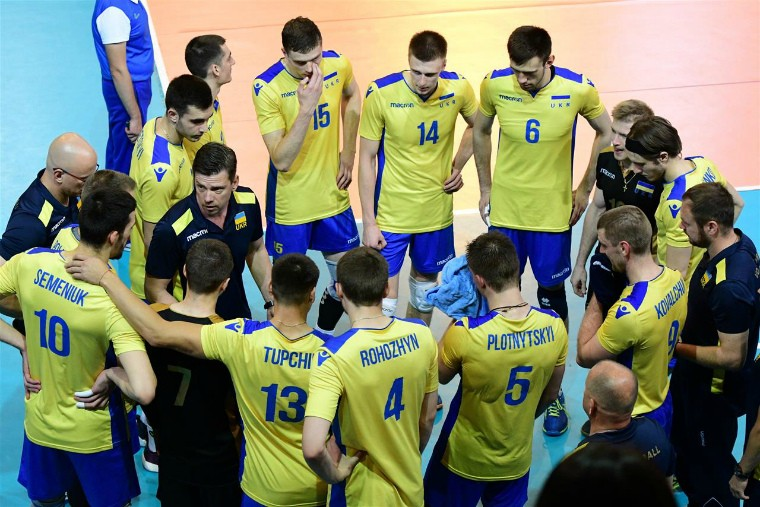 Чоловіча збірна України Збірна України завершила свій виступ у Золотій євролізі-2018
