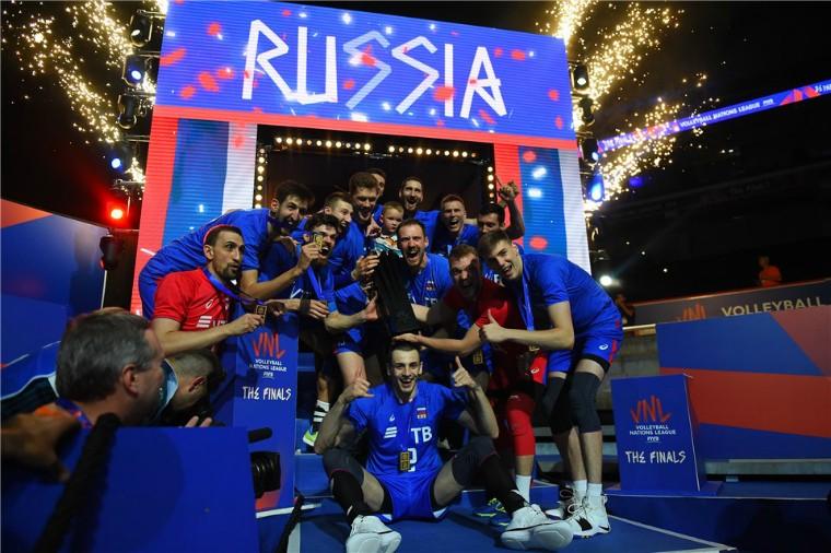 Чоловіча збірна Росії Збірна Росії – перший в історії переможець Ліги Націй