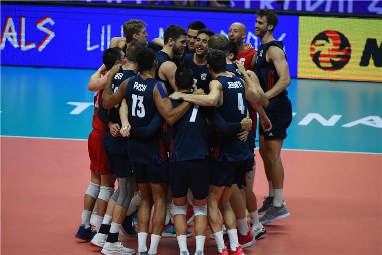 Чоловіча збірна США Збірна США стала бронзовим призером Ліги націй-2018