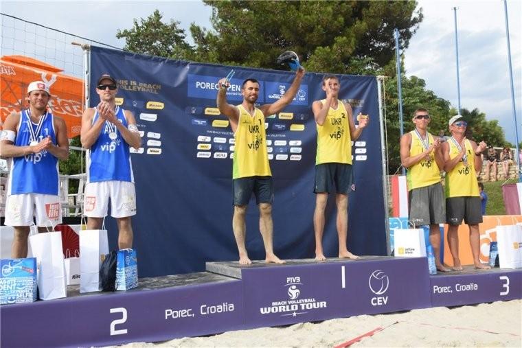 Сергей Попов и Владислав Емельянчик Попов\Емельянчик стали победителями турнира в Хорватии