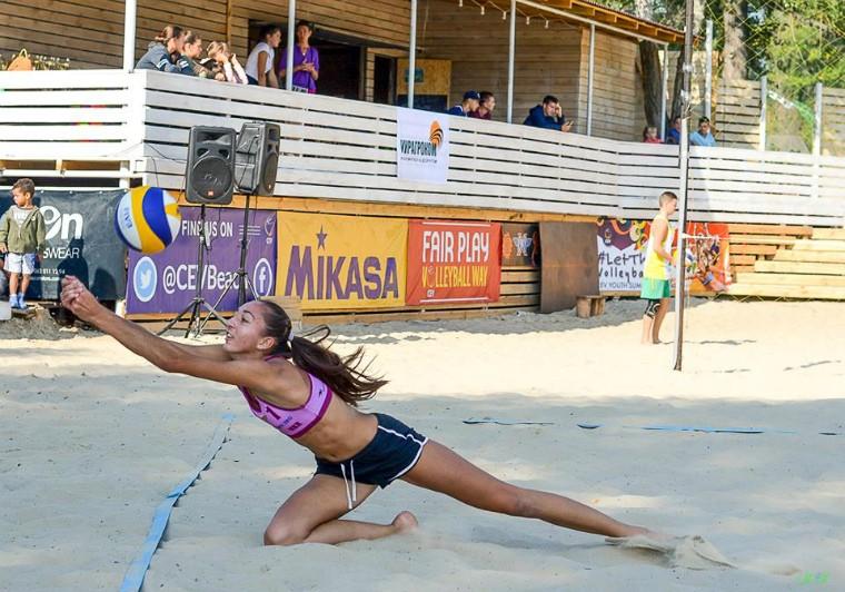 Анна Шумейко Українські пляжники на чемпіонаті Європи-2018 (U-22). Розклад та результати