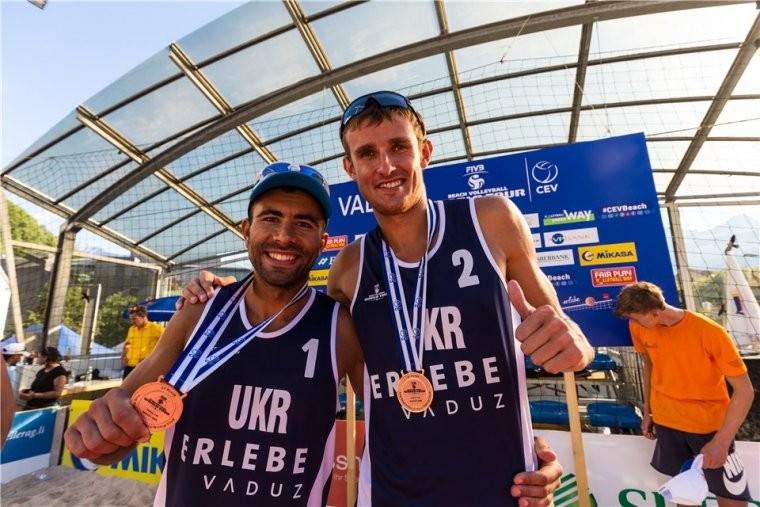 Сергій Попов та Владислав Ємельянчик Попов та Ємельянчик стали бронзовими призерами Сателліт Вадуц-2018