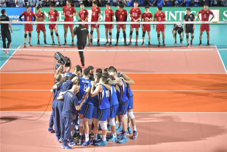 Италия - Япония Чемпионат мира-2018. День 1
