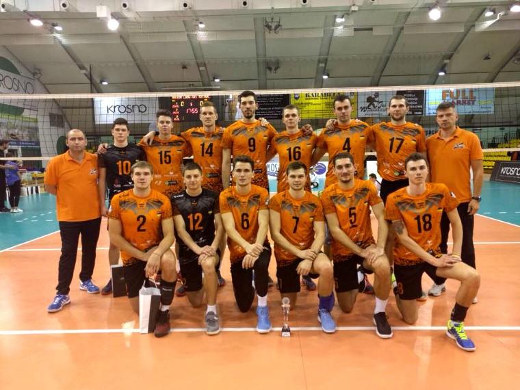 """Барком-Кажани """"Барком"""" посів третє місце на турнірі в Польщі"""