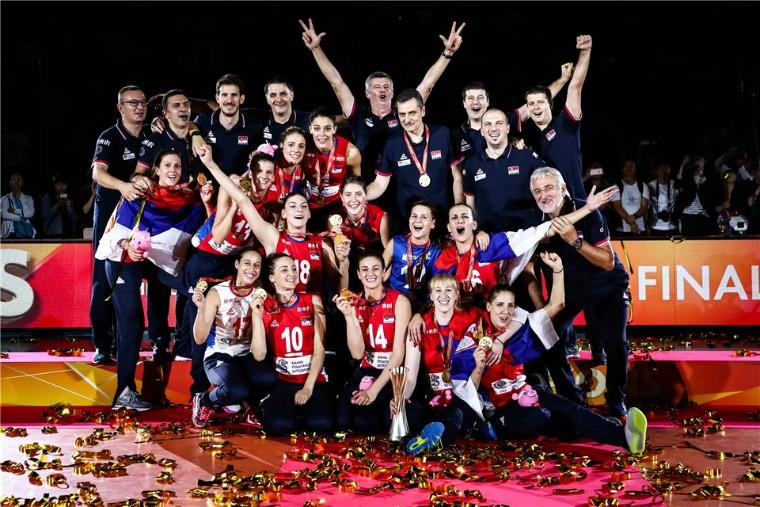 Жіноча збірна Сербії Волейболістки збірної Сербії виграли чемпіонат світу-2018