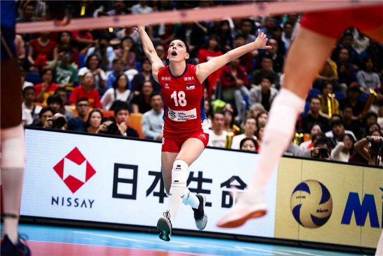Тіяна Бошкович Тіяна Бошкович - найцінніший гравець чемпіонату світу-2018