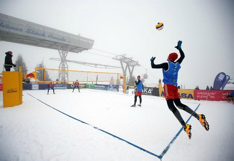 Євротур по волейболу на снігу відбудеться в Італії, Грузії, Австрії, Росії та Туреччині