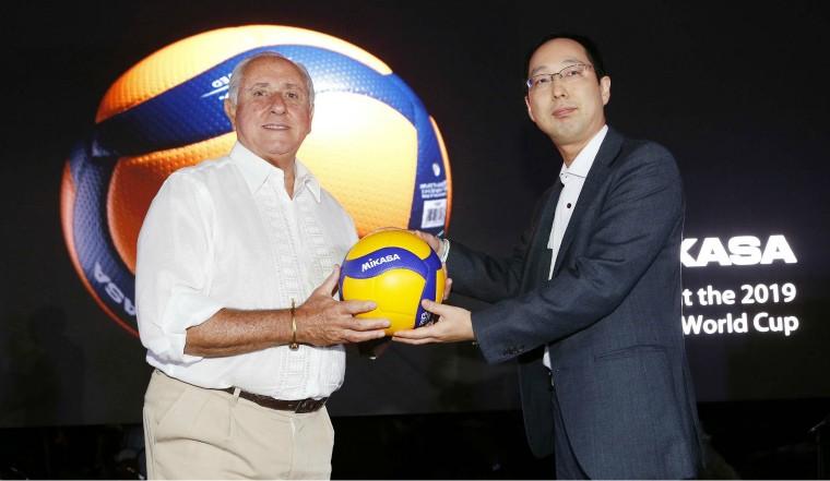 Mikasa представила новий волейбольний м'яч