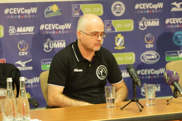 """Михали Кормош Михали КОРМОШ: """"Мы можем выиграть 3:0 или 3:1, но это будет очень тяжело сделать"""""""